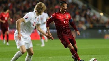 رونالدو يتقدم قائمة البرتغال لدوري الأمم الأوروبية