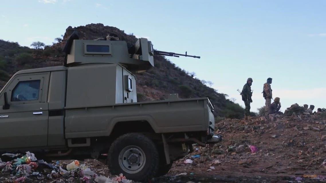 شاهد تقدم القوات اليمنية الشرعية شمال الضالع