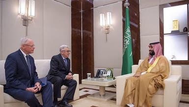ولي العهد السعودي يبحث المستجدات مع مبعوث أميركا لسوريا
