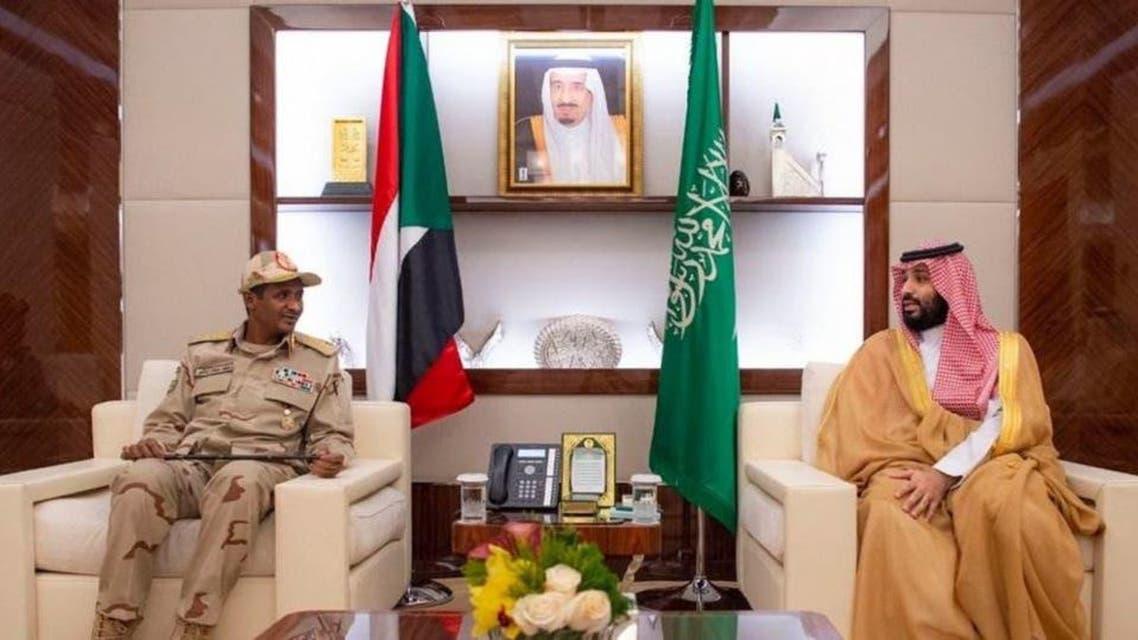 Suadi crown Prince and Sudan
