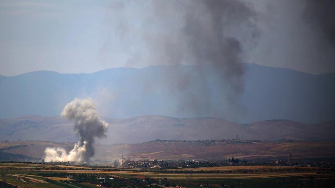 Idlib Syria. (AFP)