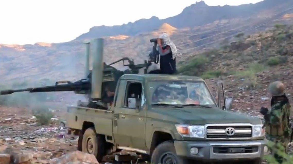 الجيش اليمني يتقدم في الضالع