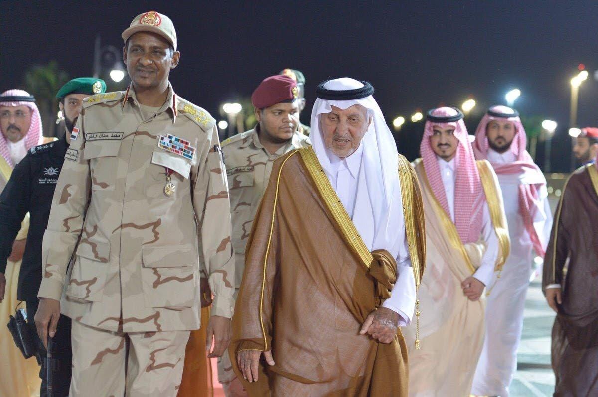 وصول نائب رئيس المجلس الانتقالي السوداني إلى جدة