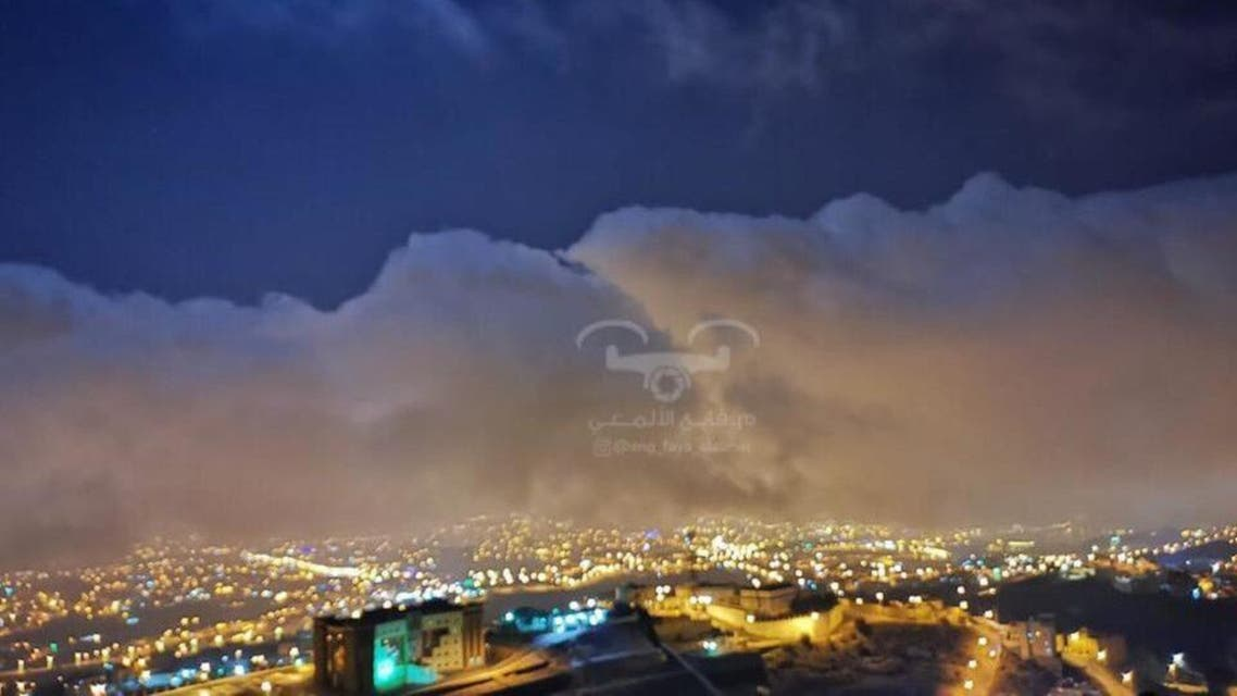 KSA: clouds and pleasant weather
