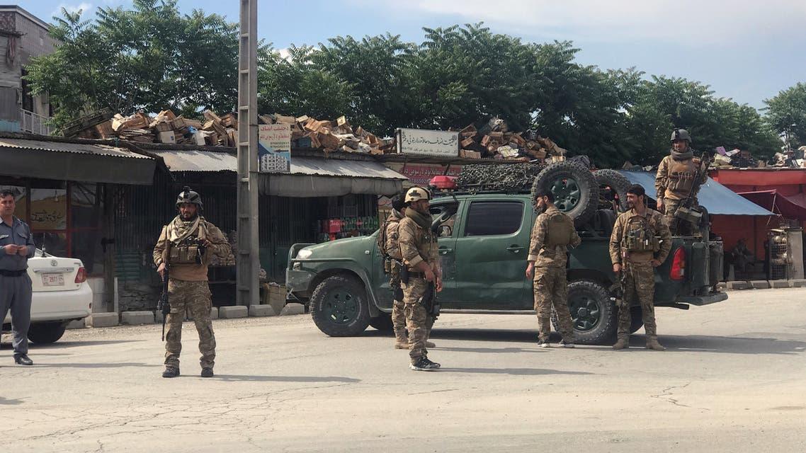 انفجار بمسجد في كابول