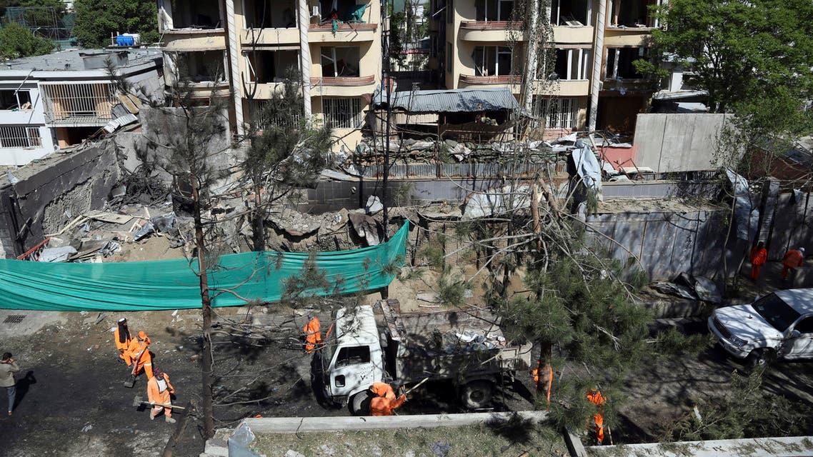 تفجير سابق في كابول