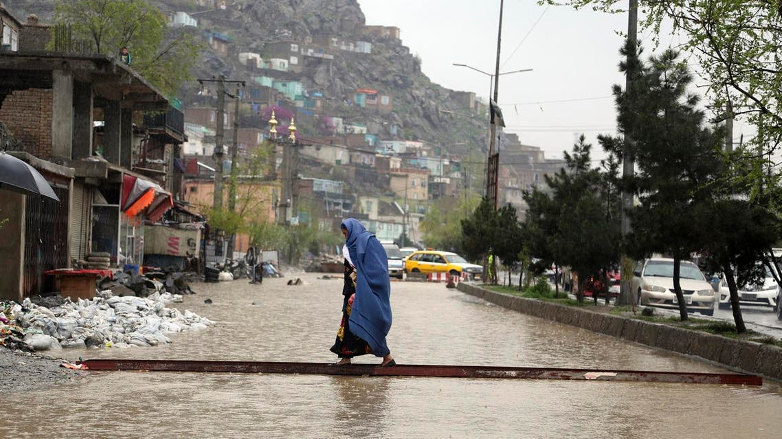 Afghanistan flood - AP