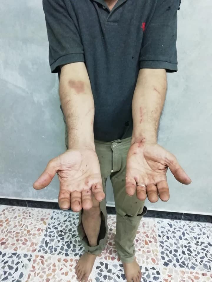 Syrian Journalist 1. (Supplied)