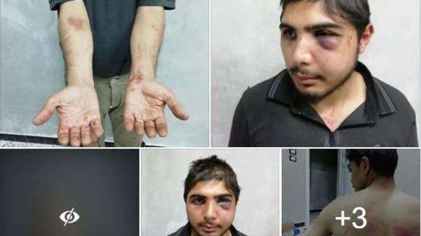شاهد كيف اعتدى ضابط تركي على ناشط سوري وعائلته