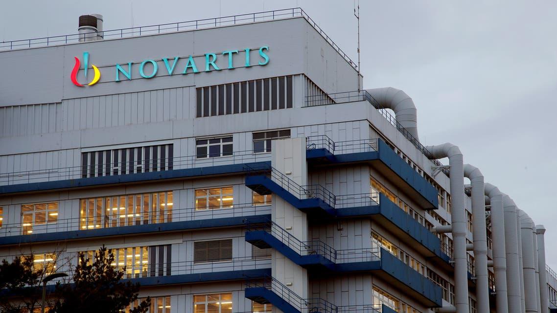 شعار شركة صناعة الأدوية السويسرية نوفارتس