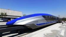 الصين تكشف عن أحدث قطار تفوق سرعته الطائرات