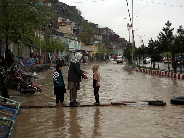 الفيضانات تقتل 24 شخصاً في أفغانستان