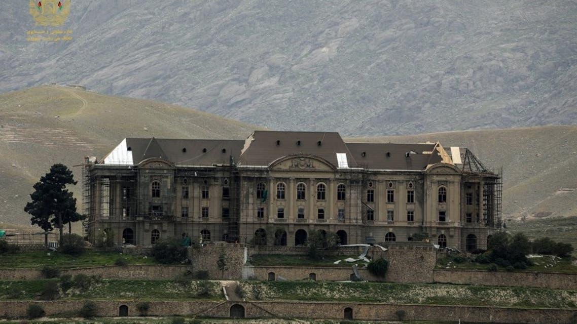 تصویری... با قصر تاج بیگ زمانی خانه حفیظ الله امین بود آشنا شوید