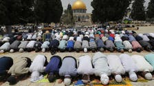 مسجد اقصیٰ میں ماہ صیام کے تیسرے جمعہ کے موقع پر ایمان پرور مناظر