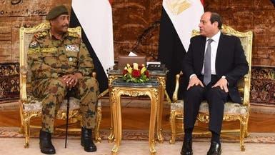 مباحثات السيسي والبرهان.. اتفاق حول ليبيا وسد النهضة