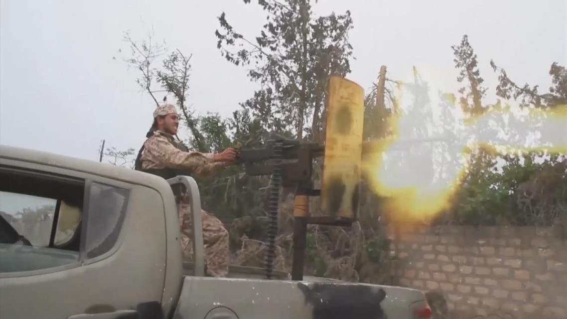 THUMBNAIL_ الجيش الليبي يتقدم على مختلف محاور طرابلس