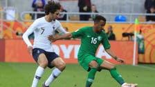 بعشرة لاعبين.. الأخضر الشاب يخسر أمام فرنسا بثنائية