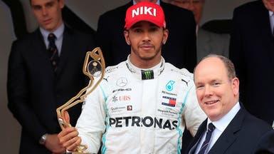 هاميلتون يفوز بجائزة موناكو الكبرى