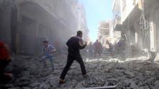 شامی فوج کے شمال مغربی صوبہ ادلب میں فضائی اور زمینی حملے ، 12 شہری ہلاک