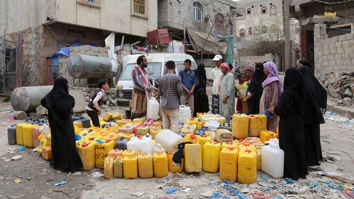 أزمة مياه في تعز