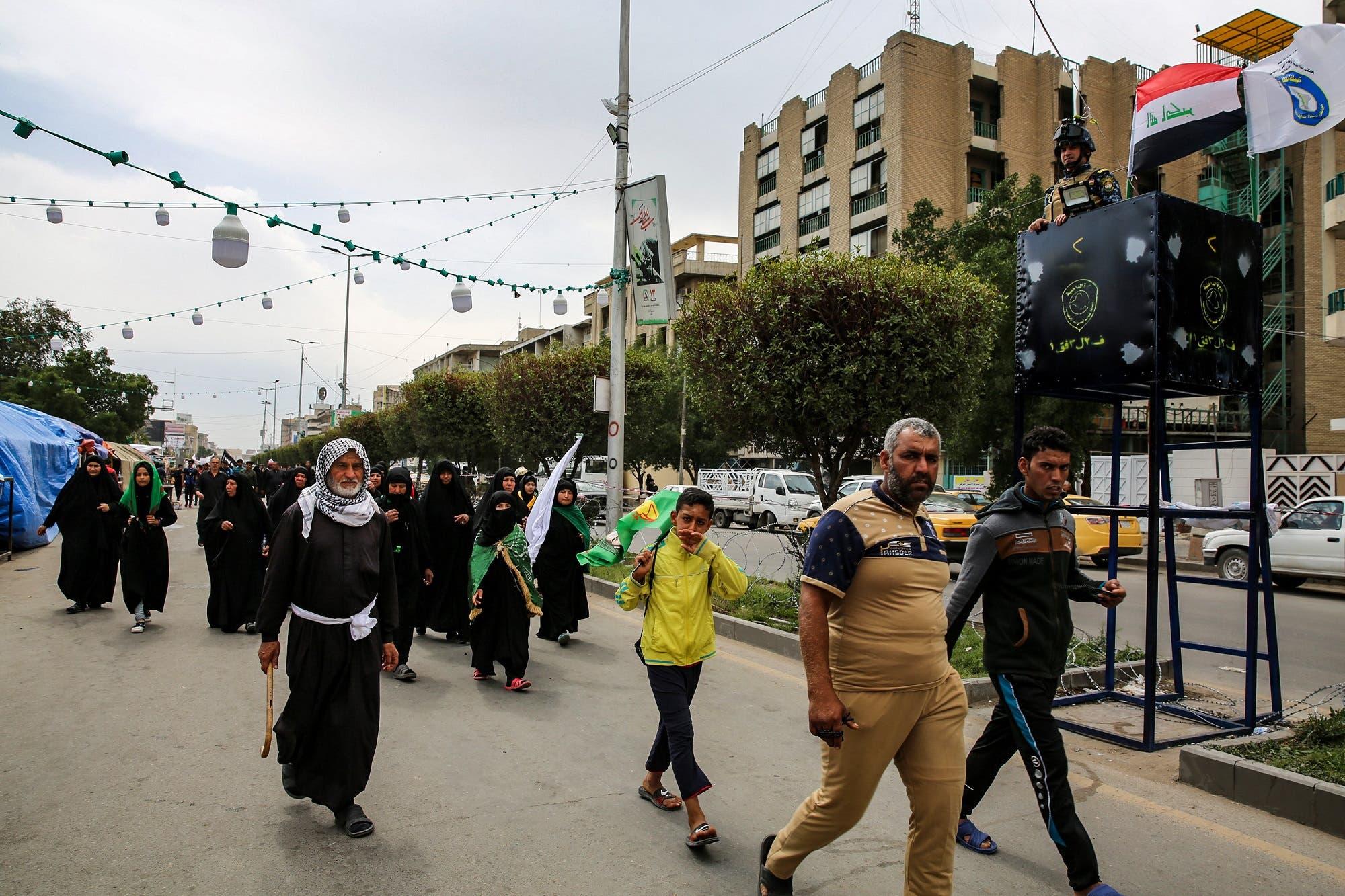 Iraq Shiite pilgirms AFP