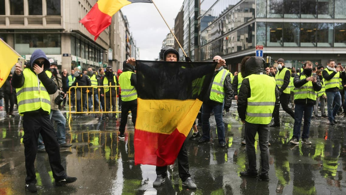 Belgium Yellow Vests AFP