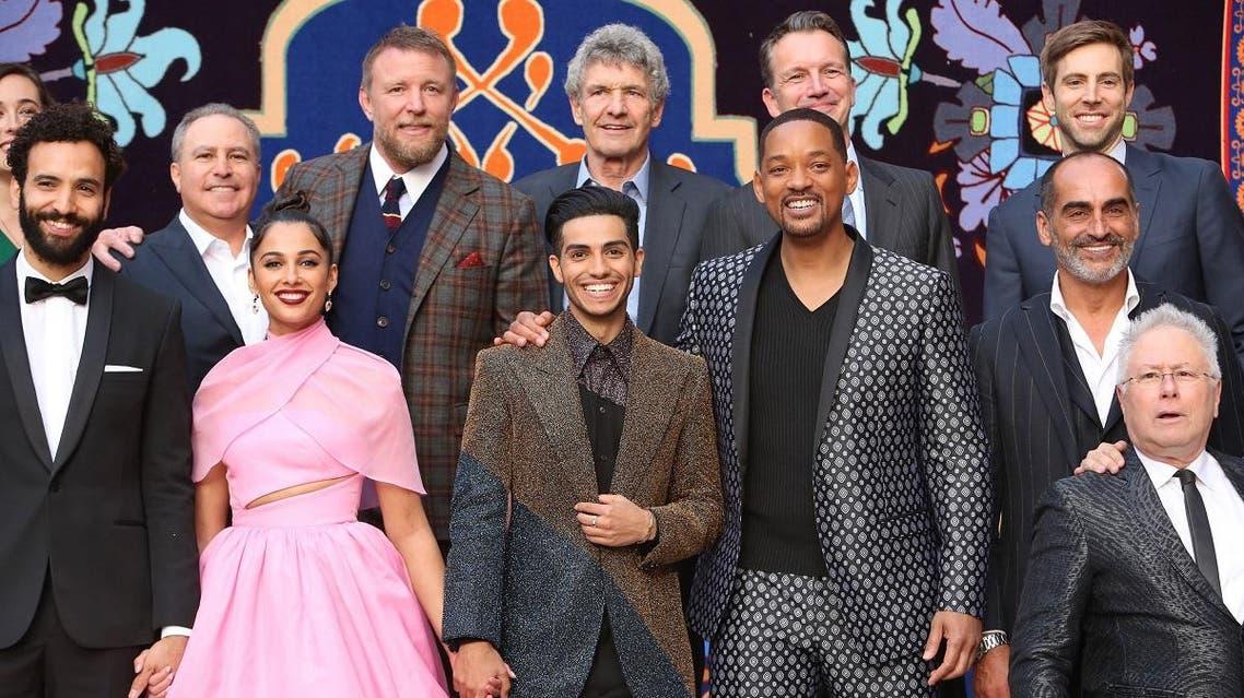 Aladdin cast. (AFP)