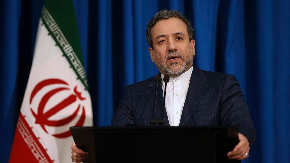 Iran's Deputy Foreign Minister Abbas Araghchi speaks with media in a press conference in Tehran. (File photo: AP)