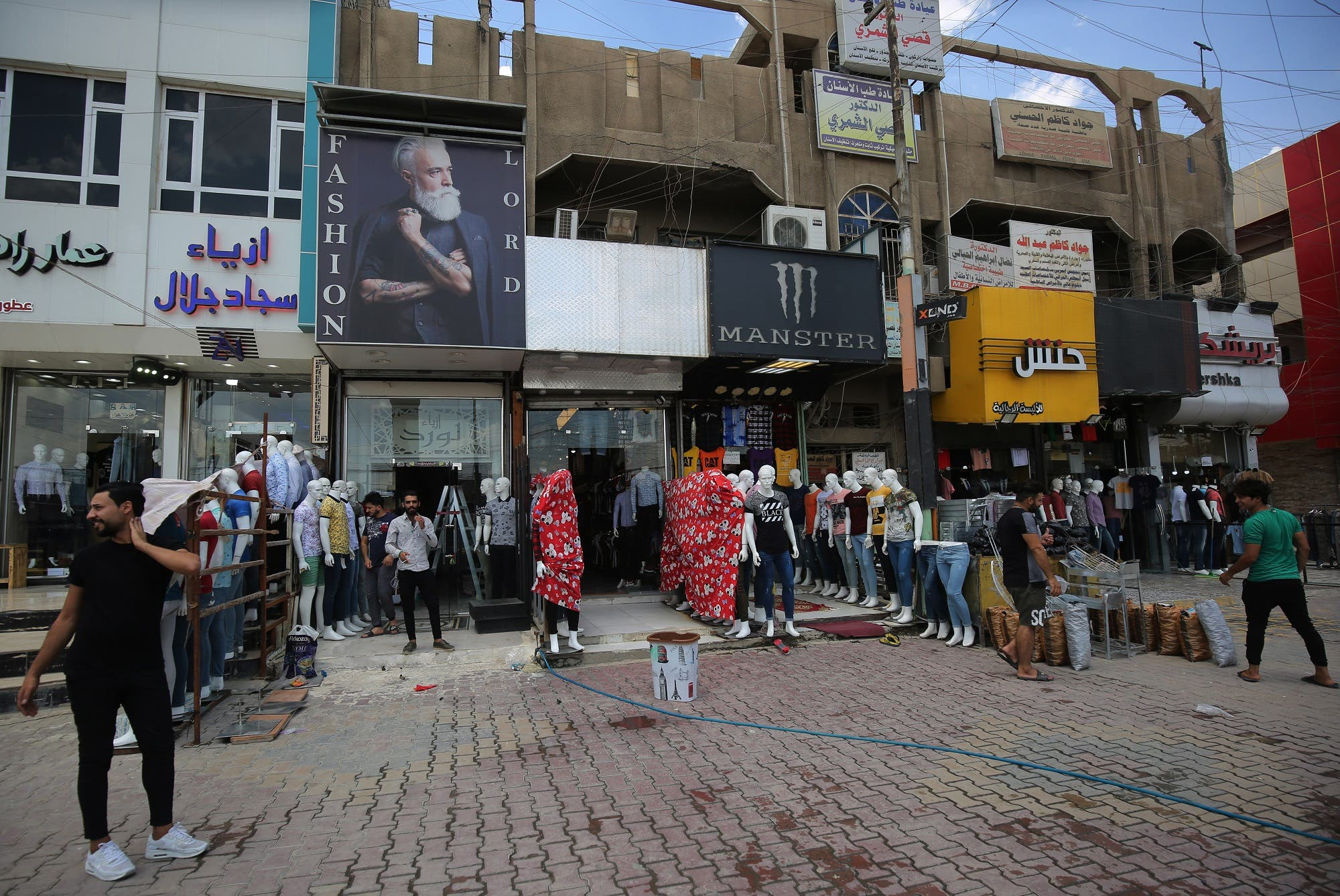 Baghdad Iraq shops - AFP