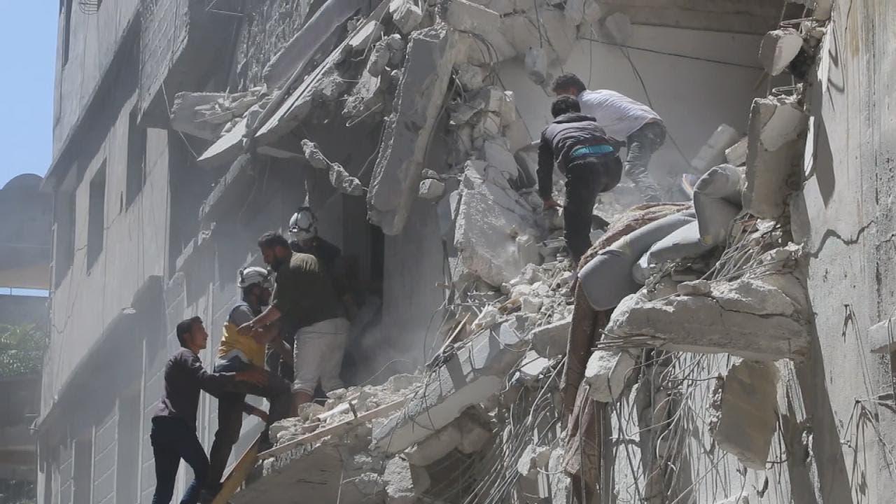 إدلب تحت القصف