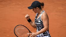 Black and white's all right for stylish Barty at French Open