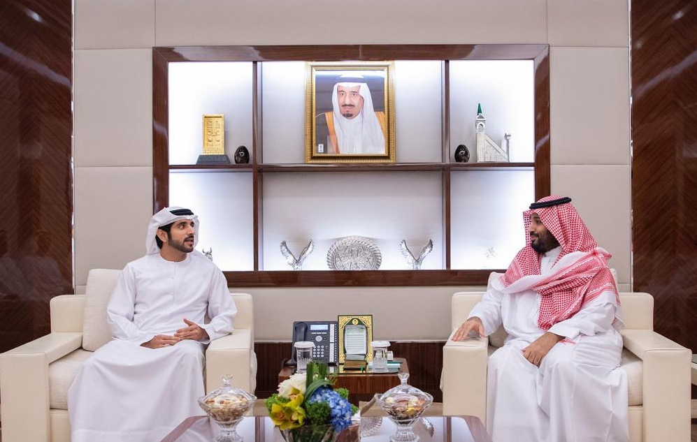 Saudi Crown Prince, Dubai Crown Prince - Supplied