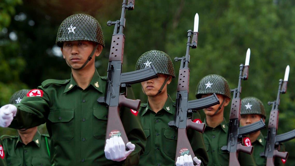 Myanmar soldiers AFP