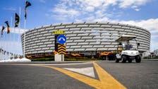 Baku quiet as Europa League fans struggle with travel