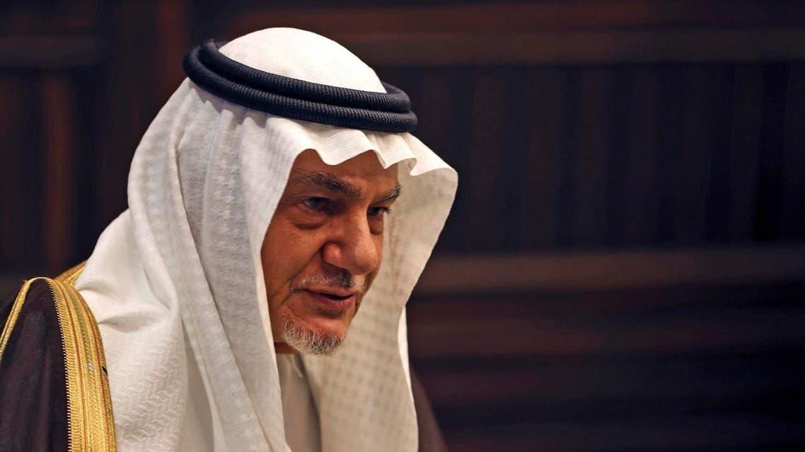 Prince Turki Al-Faisal (AP) (correct)