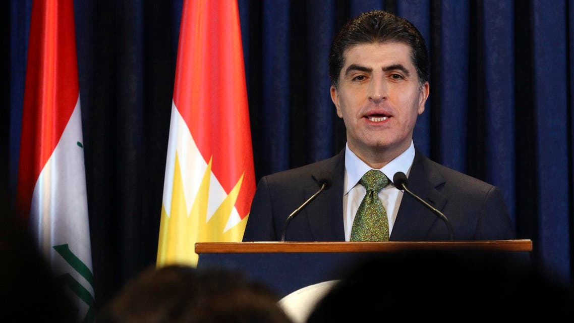 Nechirvan Barzani AFP
