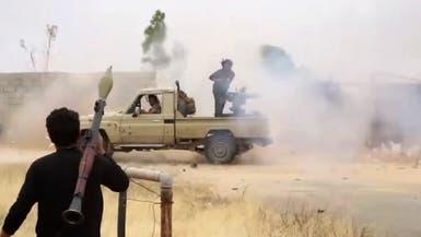 18 جريحاً بانفجارين مزدوجين أمام مقر الجيش الليبي بدرنة