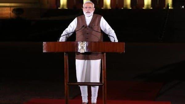 رئيس الوزراء الهندي يؤدي اليمين في مستهل ولايته الثانية