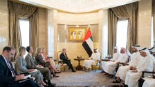Abu Dhabi Crown Prince discusses regional situation with Bolton