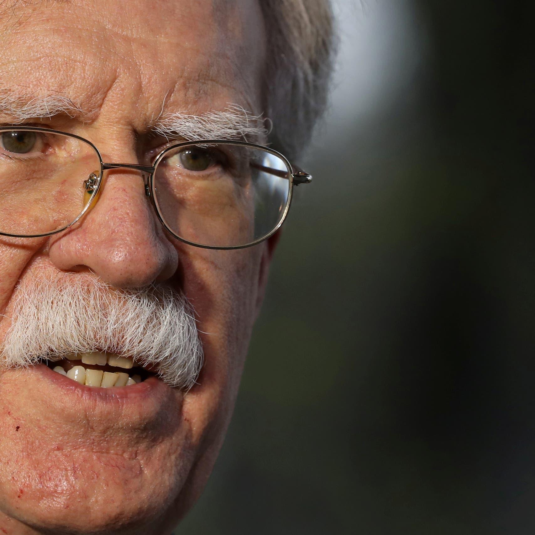 بولتون: ترمب يدرس إلغاء الإعفاءات النووية الممنوحة لإيران