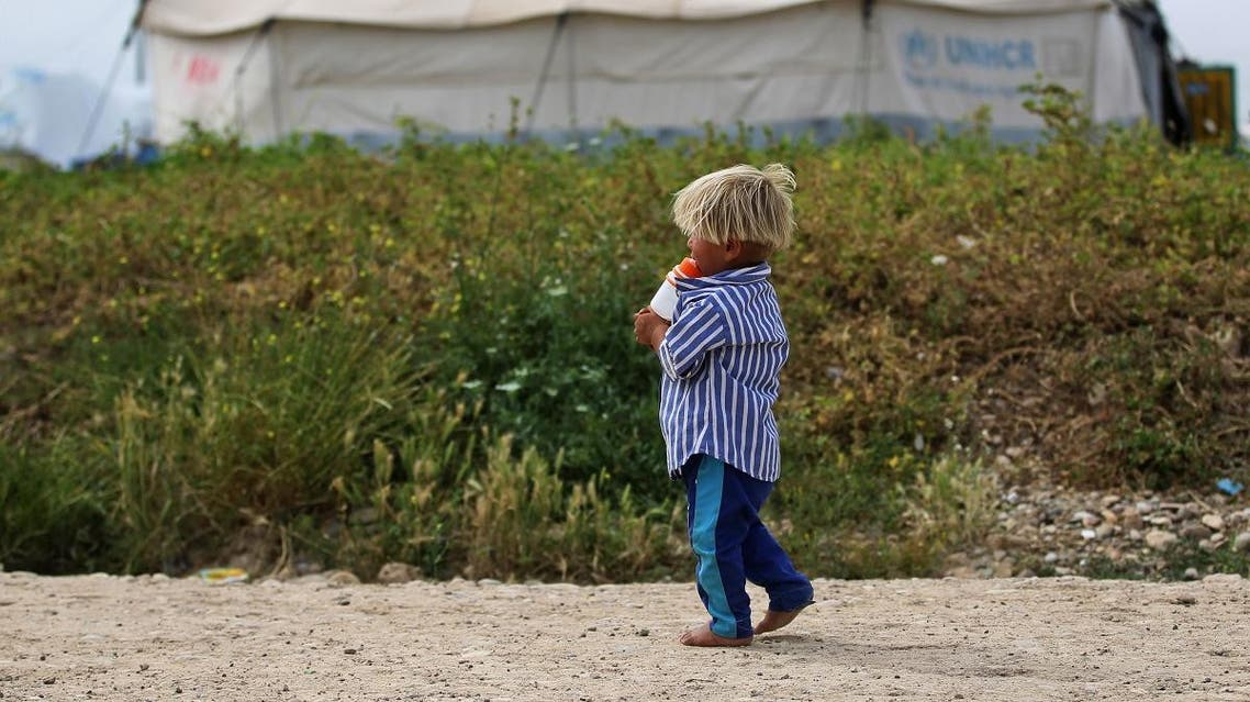Iraqi authorities handed over 188 Turkish children of suspected ISIS members to Turkey on Wednesday. (File photo: AFP)
