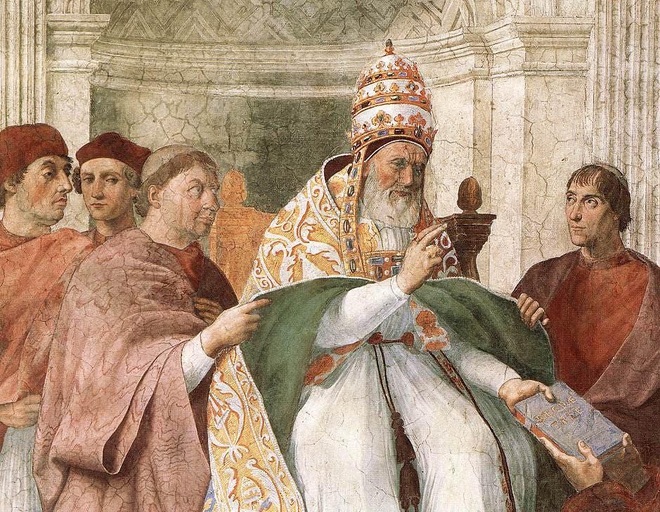 رسم تخيلي للبابا غريغوري التاسع
