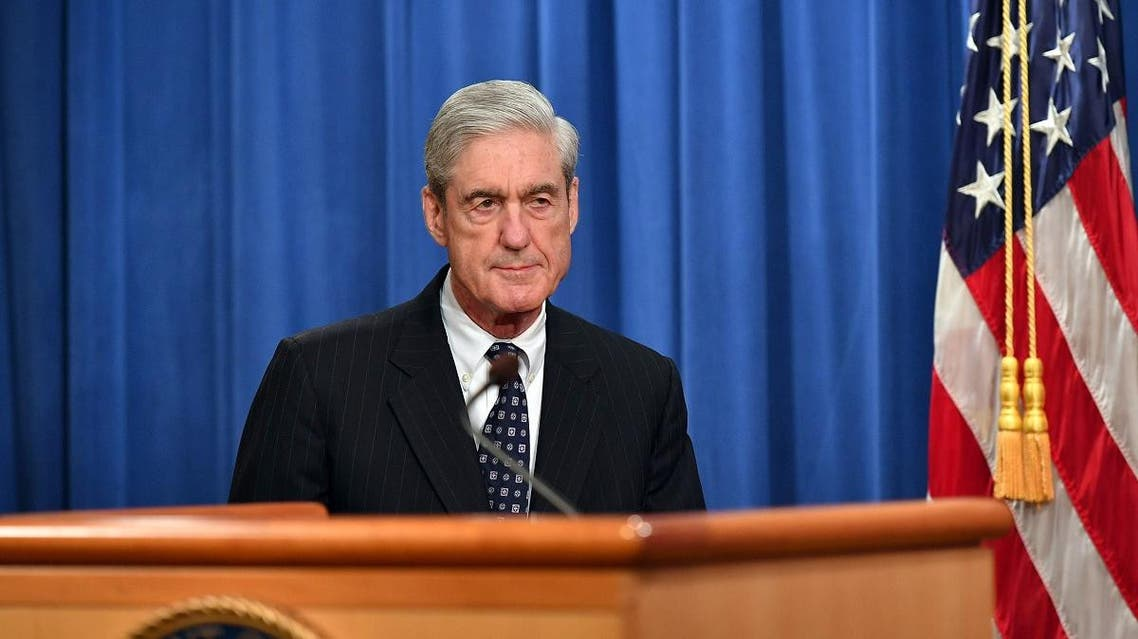 Special Counsel Robert Mueller arrives to speak on the investigation into Russian interference in the 2016 Presidential election, at the US Justice Department in Washington, DC, on May 29, 2019. (AFP)