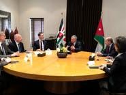 العاهل الأردني يؤكد لكوشنر على حل الدولتين كأساس للسلام
