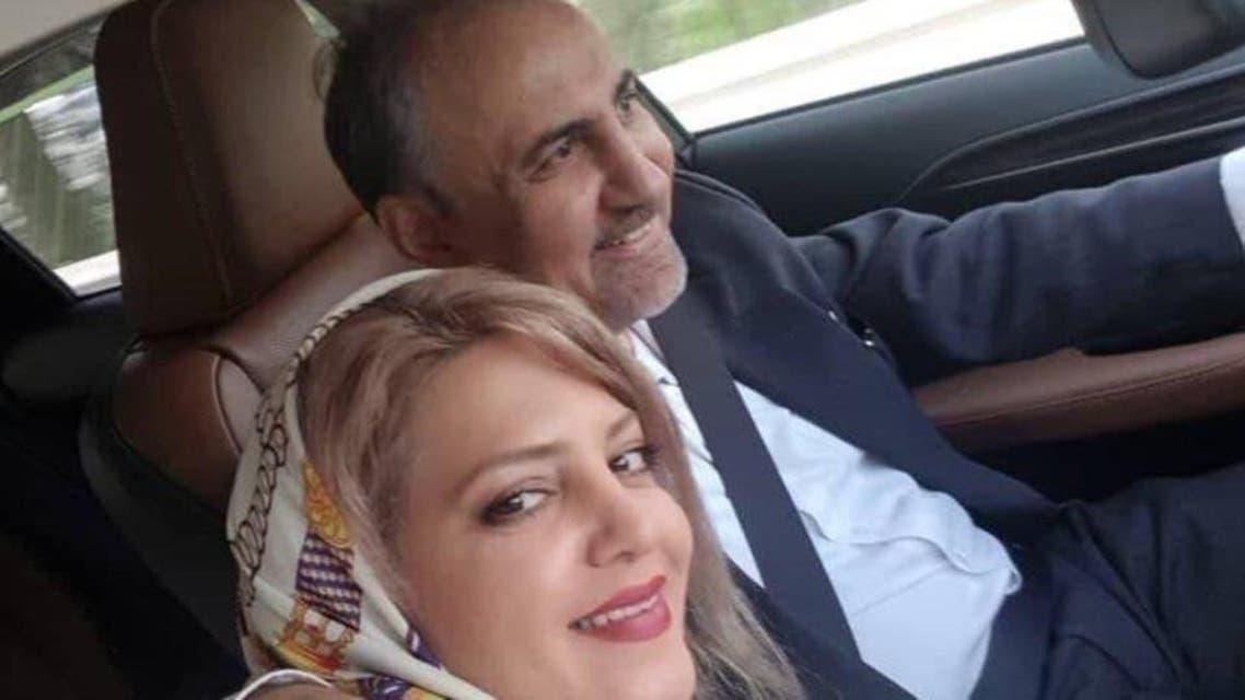 سابق مئیر تہران علی نجفی اور ان کی مقتولہ اہلیہ