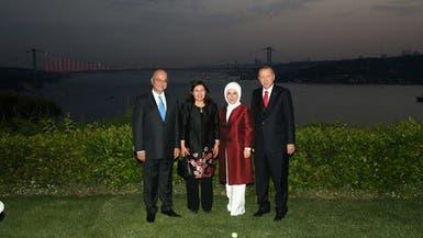 أردوغان يلتقي صالح وسط غارات تركية على شمال العراق