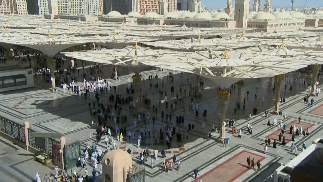 المسجد النبوي في المدينة المنورة