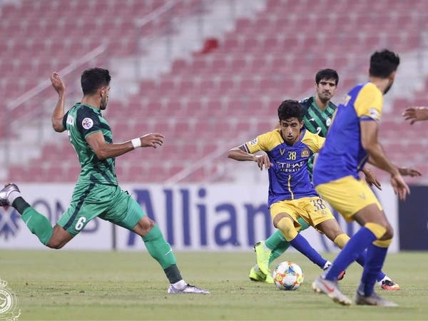 النصر يتعادل أمام ذوب آهن ويضرب موعداً مع الوحدة الإماراتي
