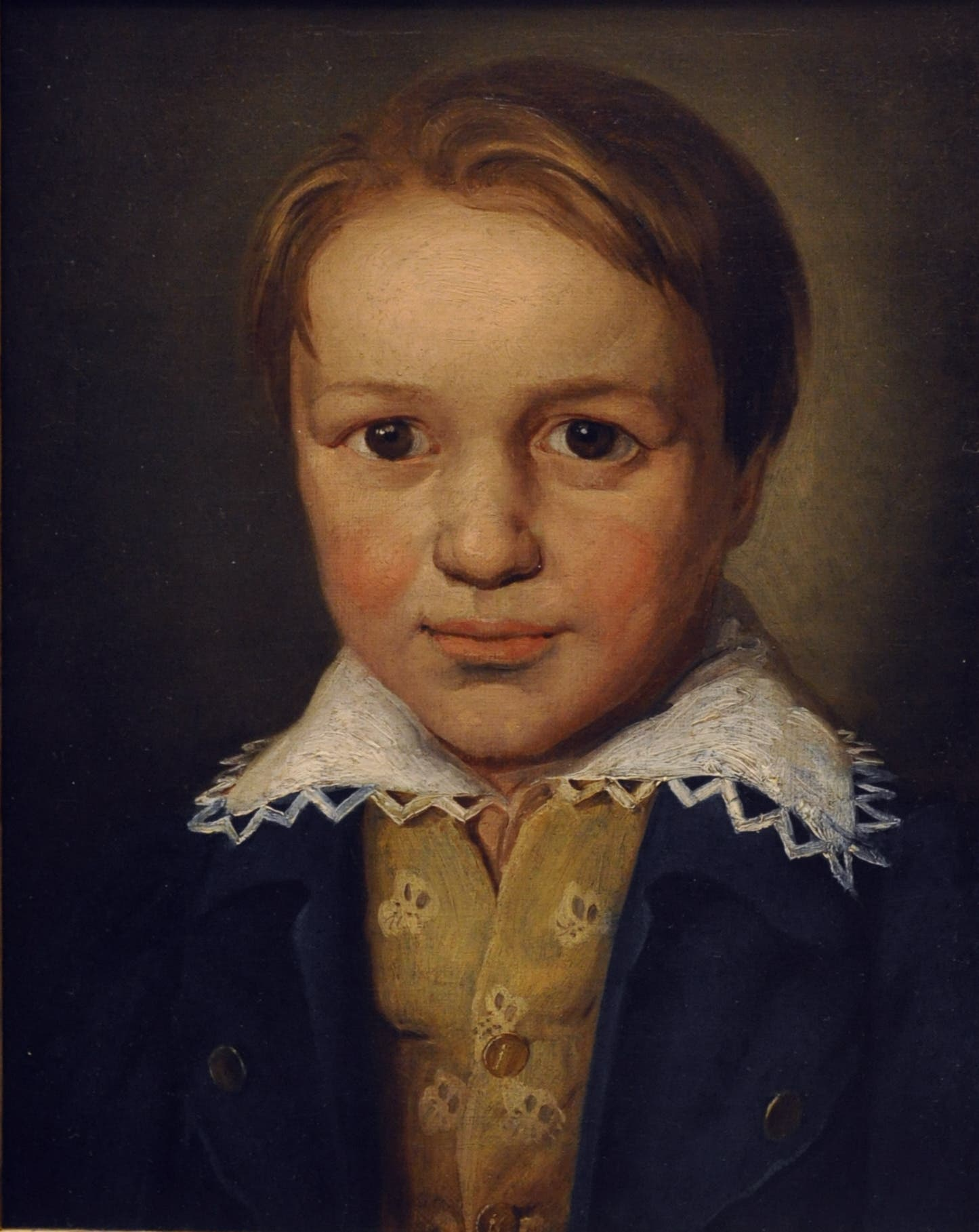 لوحة تجسد بيتهوفن خلال فترة طفولته