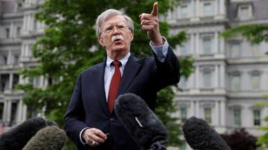 بولتون: التهديد الإيراني لم ينتهِ